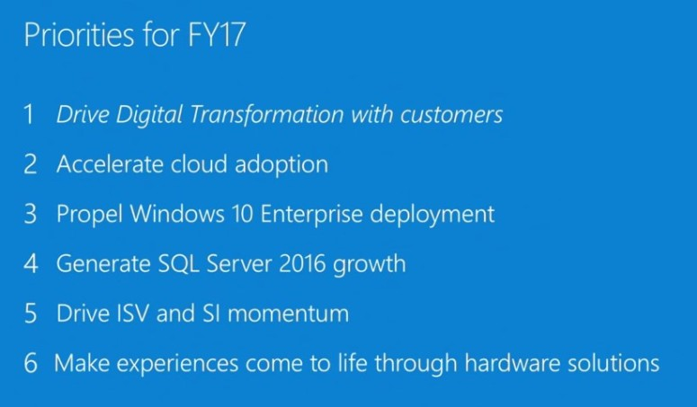 FY17 shared priorities (Small)
